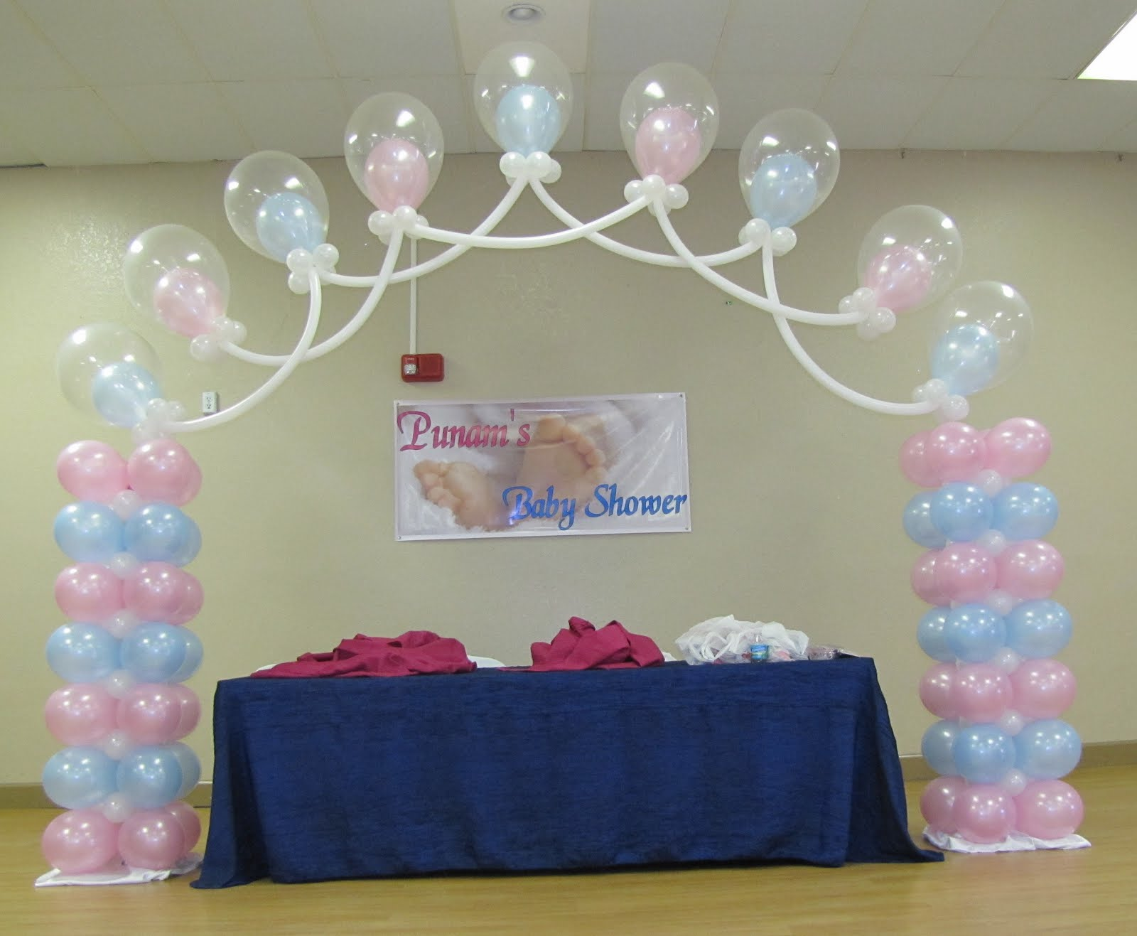 Party people event decorating company baby shower ocala fl for Baby showers pictures for decoration