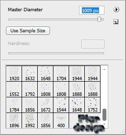 Master Diameter Brush