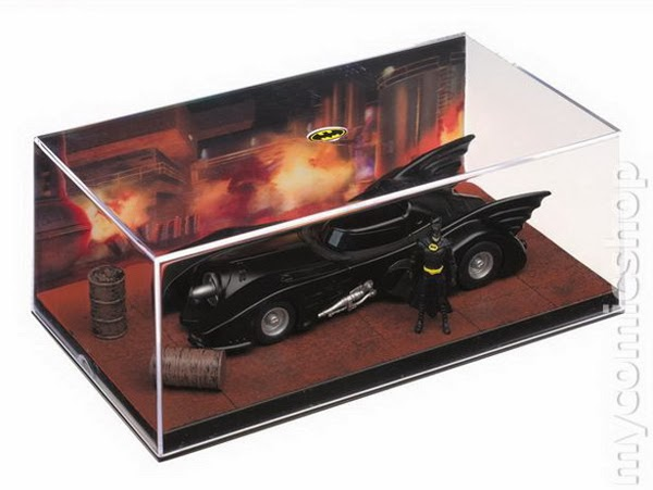 Batmovil de Tim Burton en el Coleccionable coches de Batman