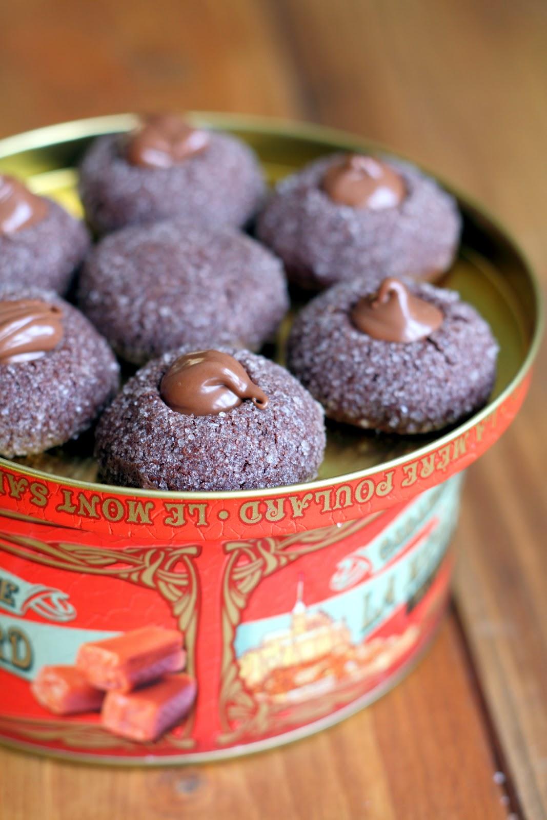 """chocolate thumbprint cookies di martha stewart (ovvero """"i biscotti al cioccolato più buoni del mondo"""")"""