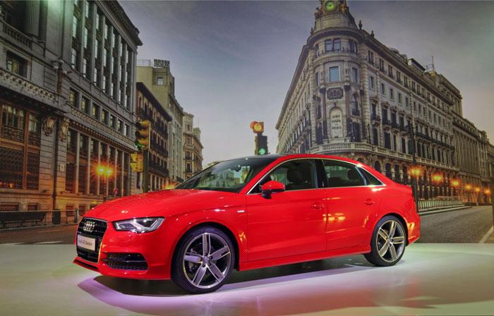 Estreno del nuevo A3 Sedán en el Audi Fórum de Madrid