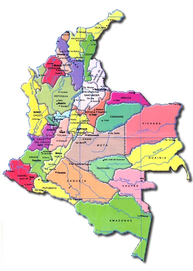 Mapas de Colombia   Colombia Sin Palabras!