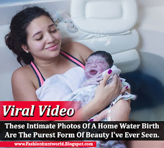 These Intimate Photos Of A Home Water Birth Are The Purest Form Of Beauty I've Ever Seen