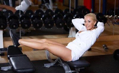 Il body building femminile