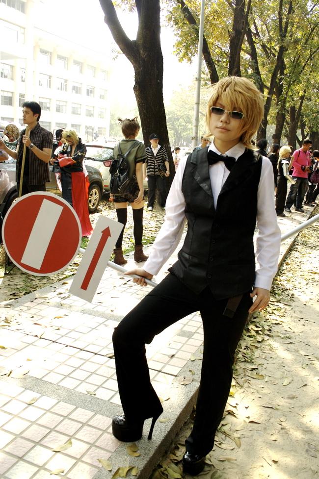 DuRaRaRa!  Izaya Orihara cosplay Kostüme Version 03