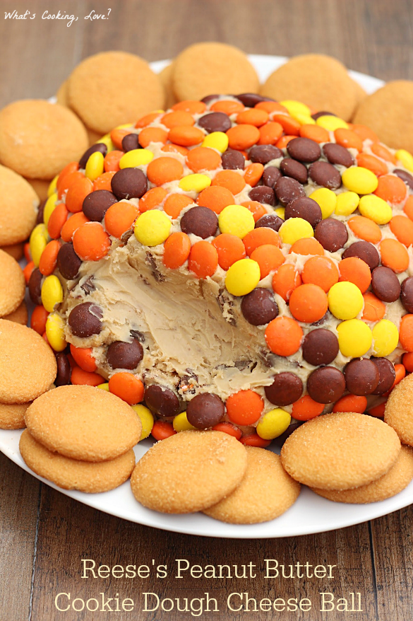 Reese S Peanut Butter Cookie Dough Cheese Ball