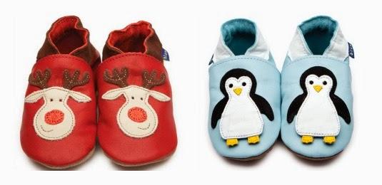 Yorkshire Blog, Mummy Blogging, Parent Blog, review, Inch Blue, Reindeer, Penguin, Shoes, Soft-Soled,