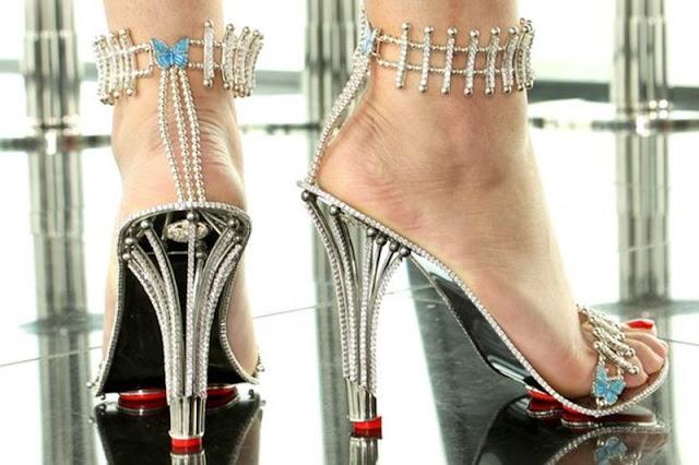 Beyoncé, Sapatos, Um Milhão de Reais