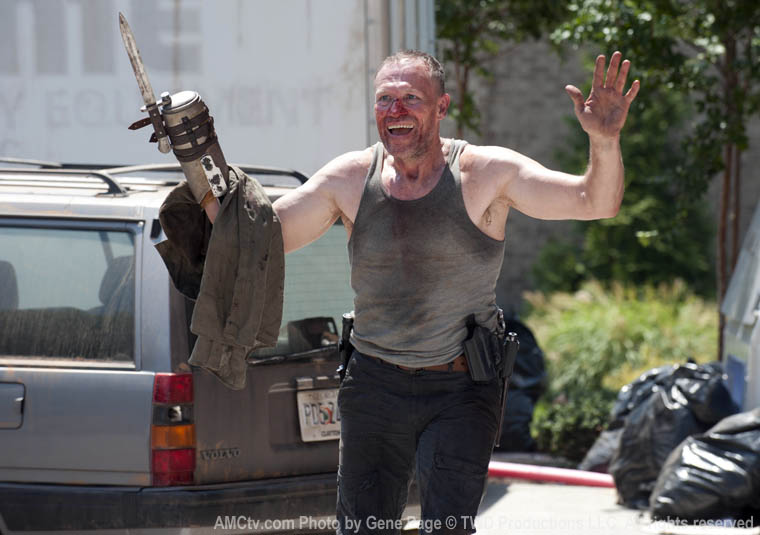 the walking dead 3x06 Merle Dixon