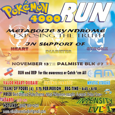 IN THE SPOTLIGHT:  AIM TO RUN!