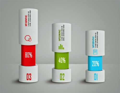 Photoshop Tutorial - Infographic Cylinder