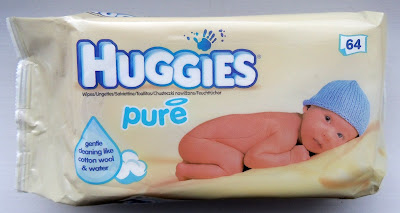 Huggies Pure Simple wipes
