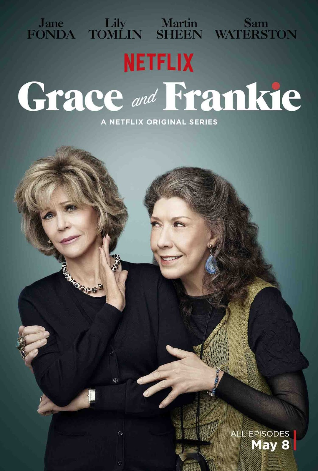 Grace and Frankie 1ª Temporada Torrent - WEBRip 720p Dual Áudio (2015)