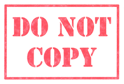 "What is this ""Do not Copy""?"