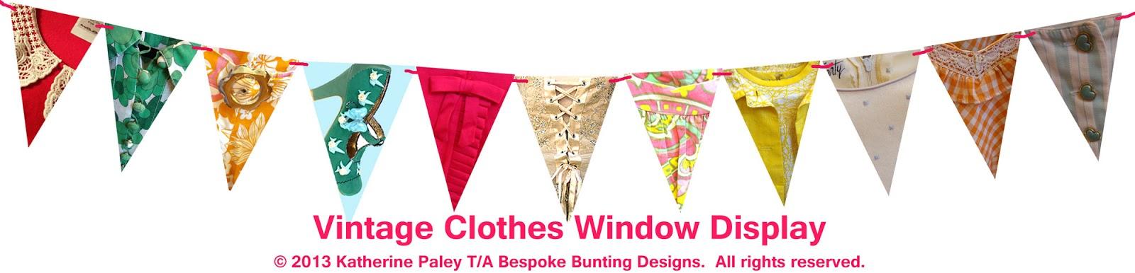 shop window bunting