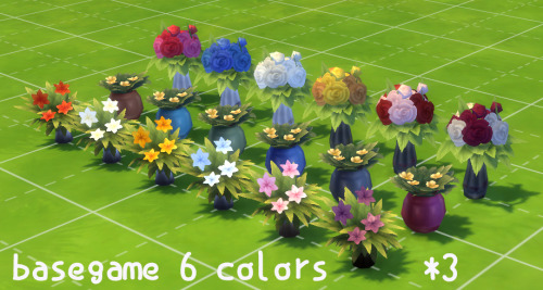 my sims 4 blog flowers in vase by roundog. Black Bedroom Furniture Sets. Home Design Ideas