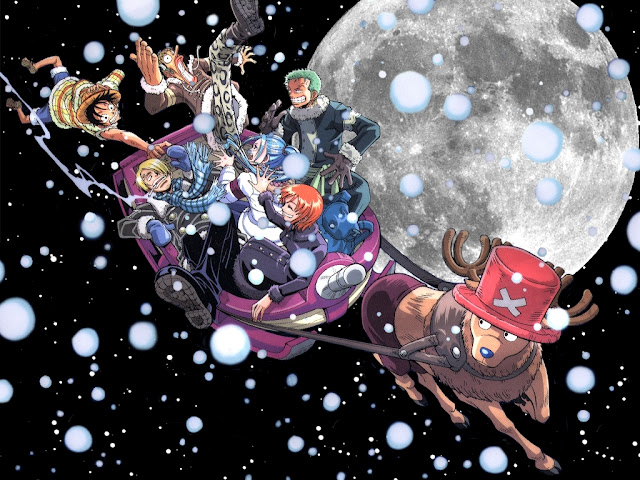 One Piece Christmas Fun Wallpaper 0010