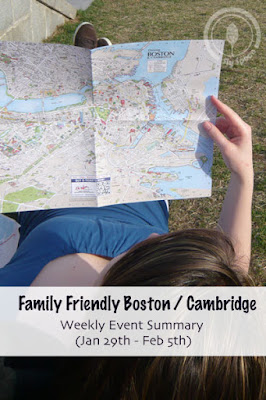 Family Friendly Weekly Event Activities for the Boston Cambridge Area
