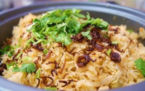 Resepi Nasi Tomato dan Ayam Masak Merah