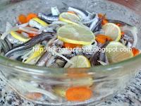 Peste marinat la cuptor preparare reteta