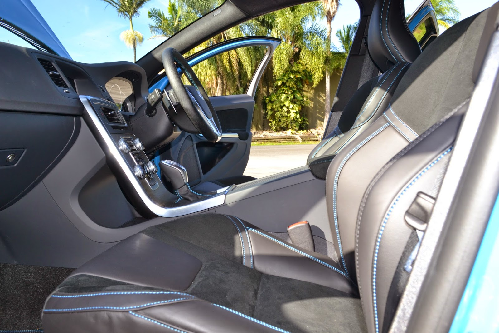 Sports seats are sublime and hold you in well