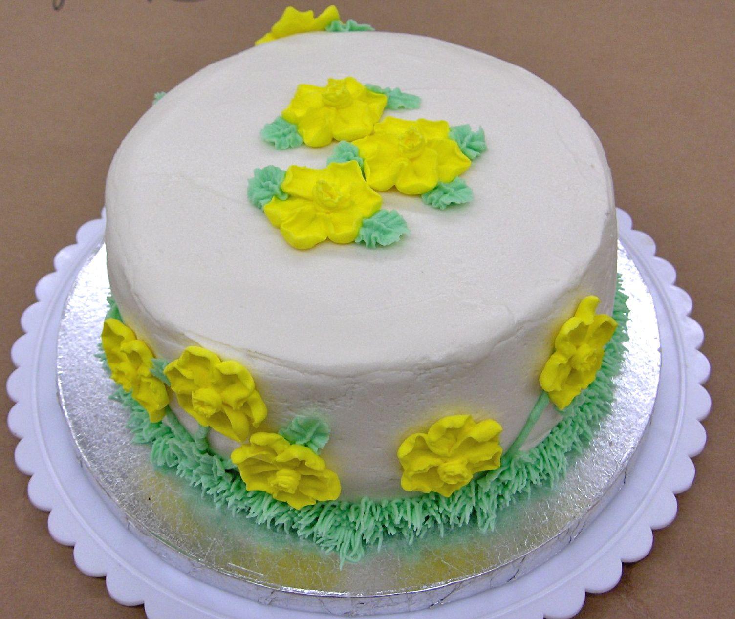 Rhapsody of Cacophony: Wilton Cake Class 2 - Final Cake