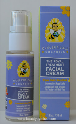 BeeCeuticals Organics The Royal Treatment Facial Cream