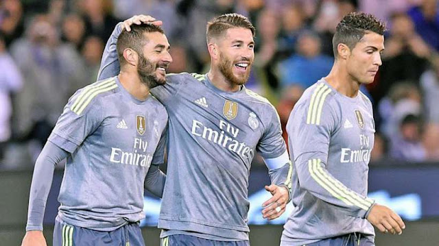 Os 10 maiores Salários do Real Madrid