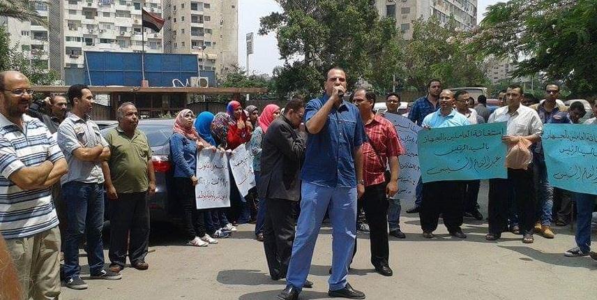 ثورة وانتفاضة غضب تطالب بوقف العمل بقانون الخدمة المدنية الجديد