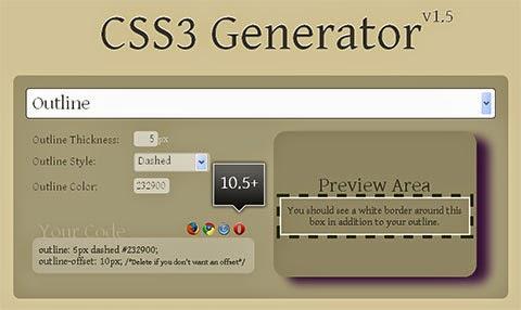 Generador CSS3