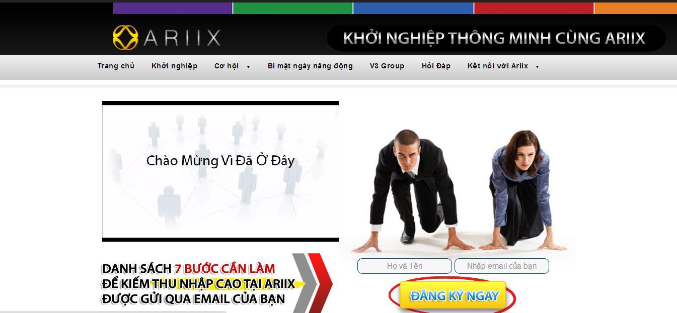 Ariix Việt Nam : Bạn từng có một kế hoạch kinh doanh thật sự chưa?