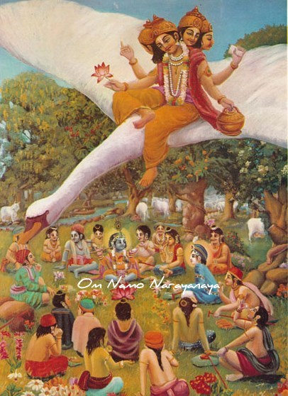 கண்ணன் கதைகள் (40) - பிரம்மனின் கர்வ பங்கம்,கண்ணன் கதைகள், குருவாயூரப்பன் கதைகள்,