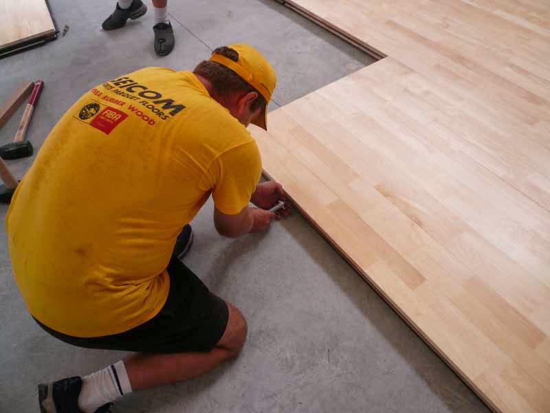 Portable floor BORMIO