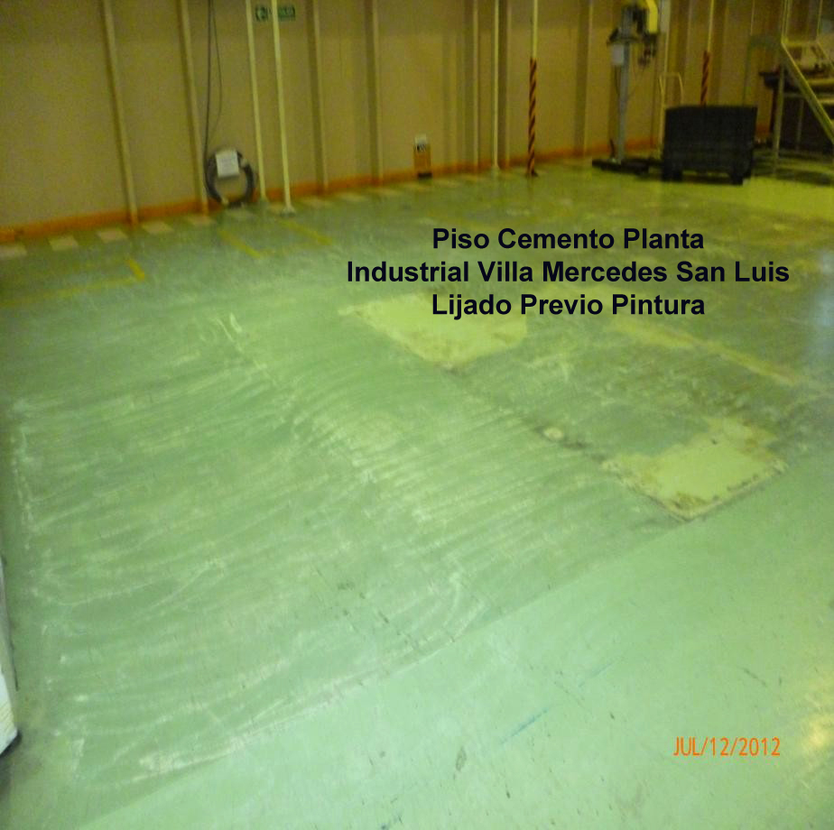 Esmalte epoxi base acuosa para pisos de cemento etc x - Pintura para pisos de cemento ...
