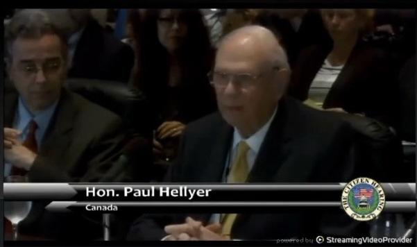 Paul Hellyer - Εξωγήινοι συνεργάζονται με την Αμερικανική Κυβέρνηση