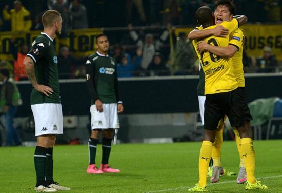 Borussia Dortmund 2 x 1 Krasnodar - Europa League 2015/16