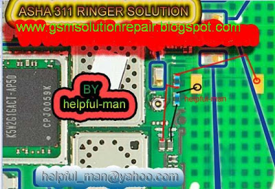 nokia asha 311 ringer buzzer problem repair solution ways