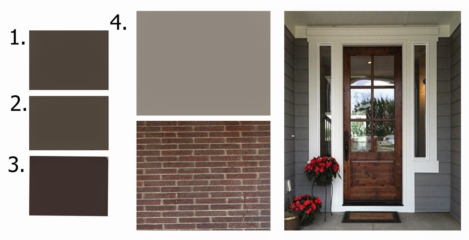 Black Fox By Sherwin Williams 3. Espresso Bean By Benjamin Moore 4.  Dovetail By Sherwin Williams Part 86