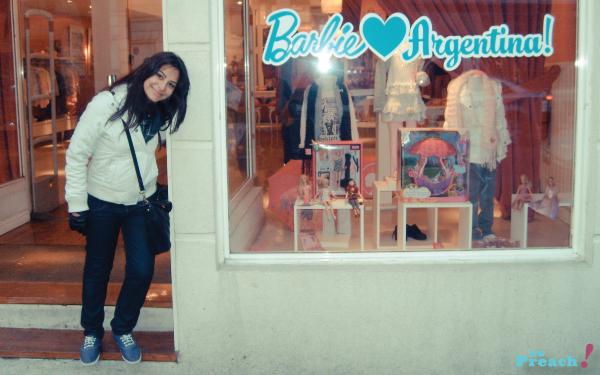 Bárbara Urias - Loja da Barbie - Buenos Aires - Argentina - Palermo