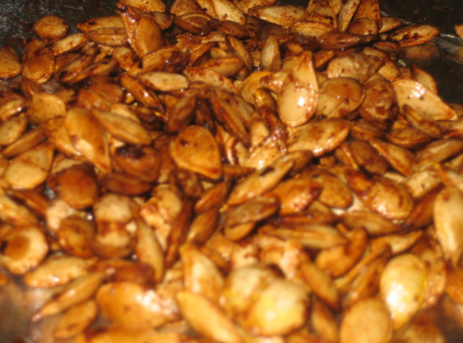 The Diligent Gardener: Toasted Pumpkin Seeds