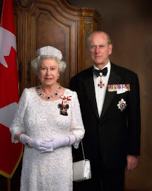 HM Queen Elizabeth II and HRH Prince Philip