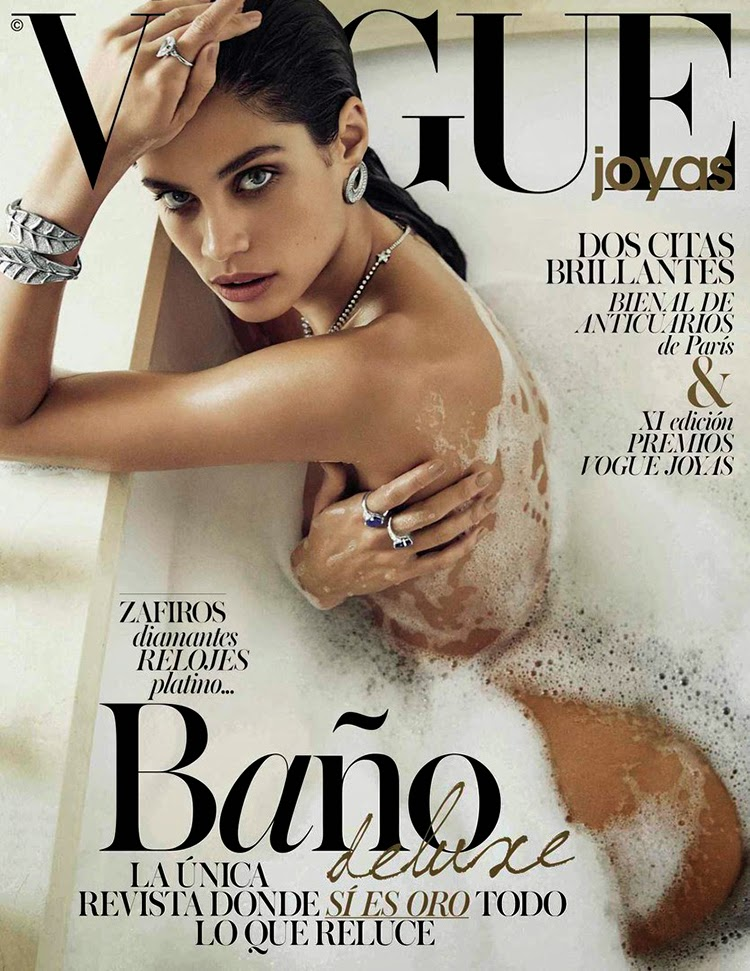 Sara Sampaio On The Cover Of Vogue Spain December 2014