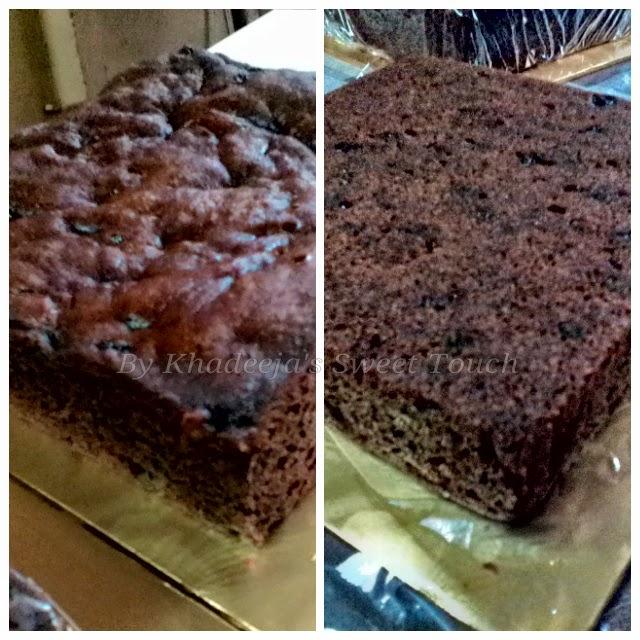 KEK BUAH KUKUS (STEAM FRUIT CAKE)