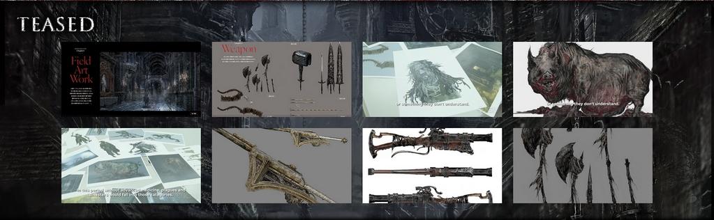 Bloodborne Artworks Teased