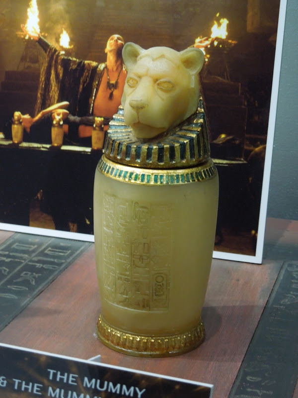 Mummy Canopic Jar movie prop