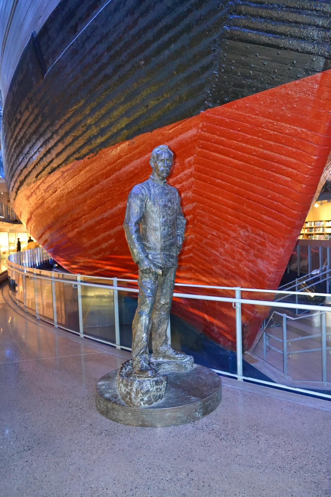 bow of the fram ship