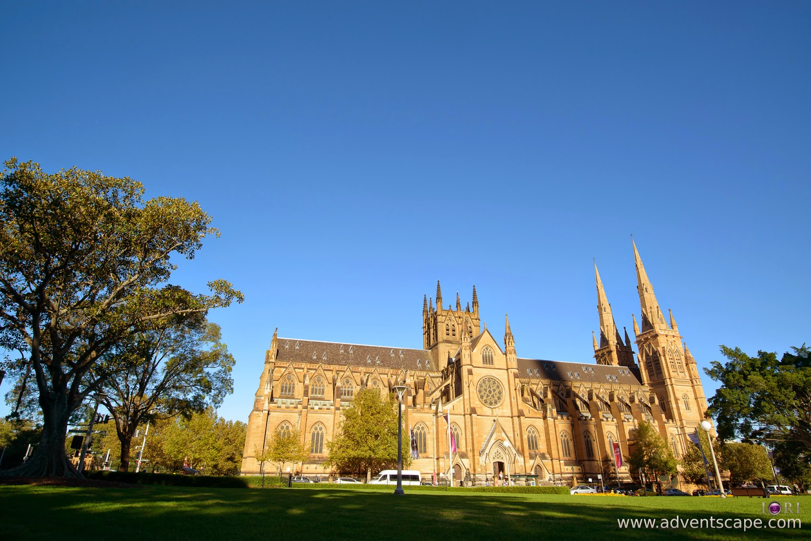 Philip Avellana, Australian Landscape Photographer, NSW, New South Wales, Sydney, Australia, St Mary's Cathedral, church, comparison, review, glass vs resin, filters, Lee Filters, control