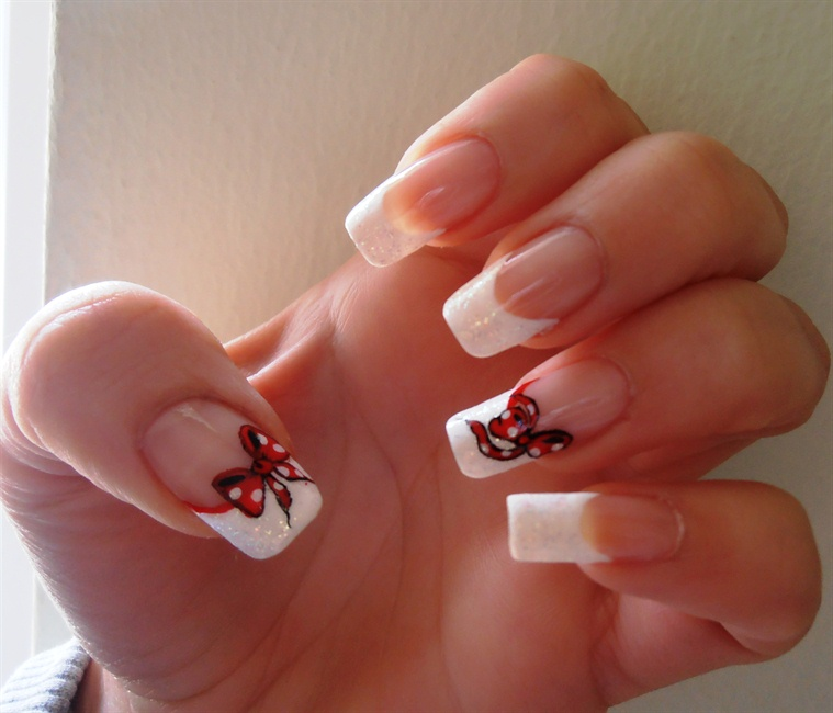 french manicure latest designs for kids pictures 2013 | All About ...