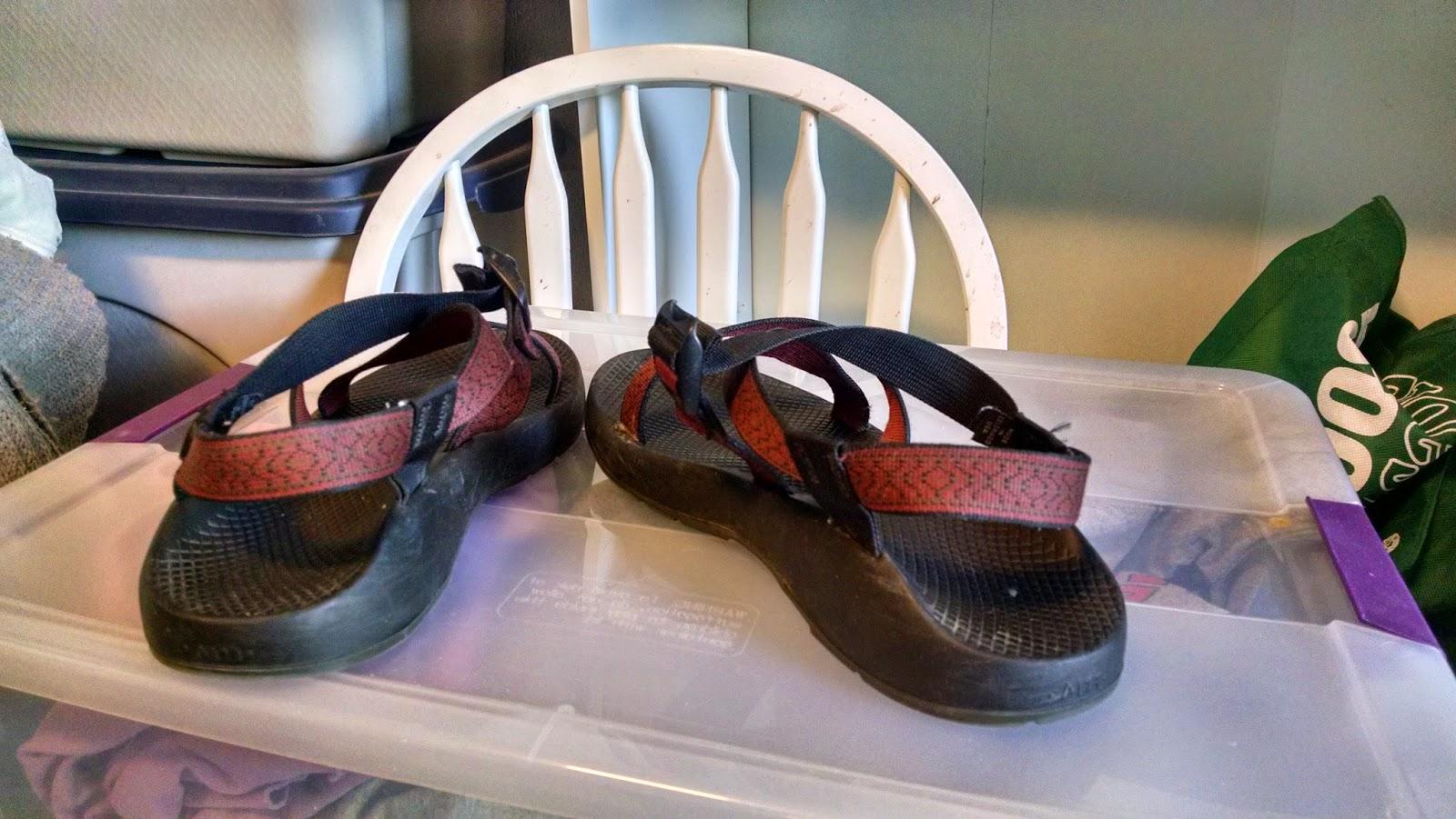Sandals via e-Bay
