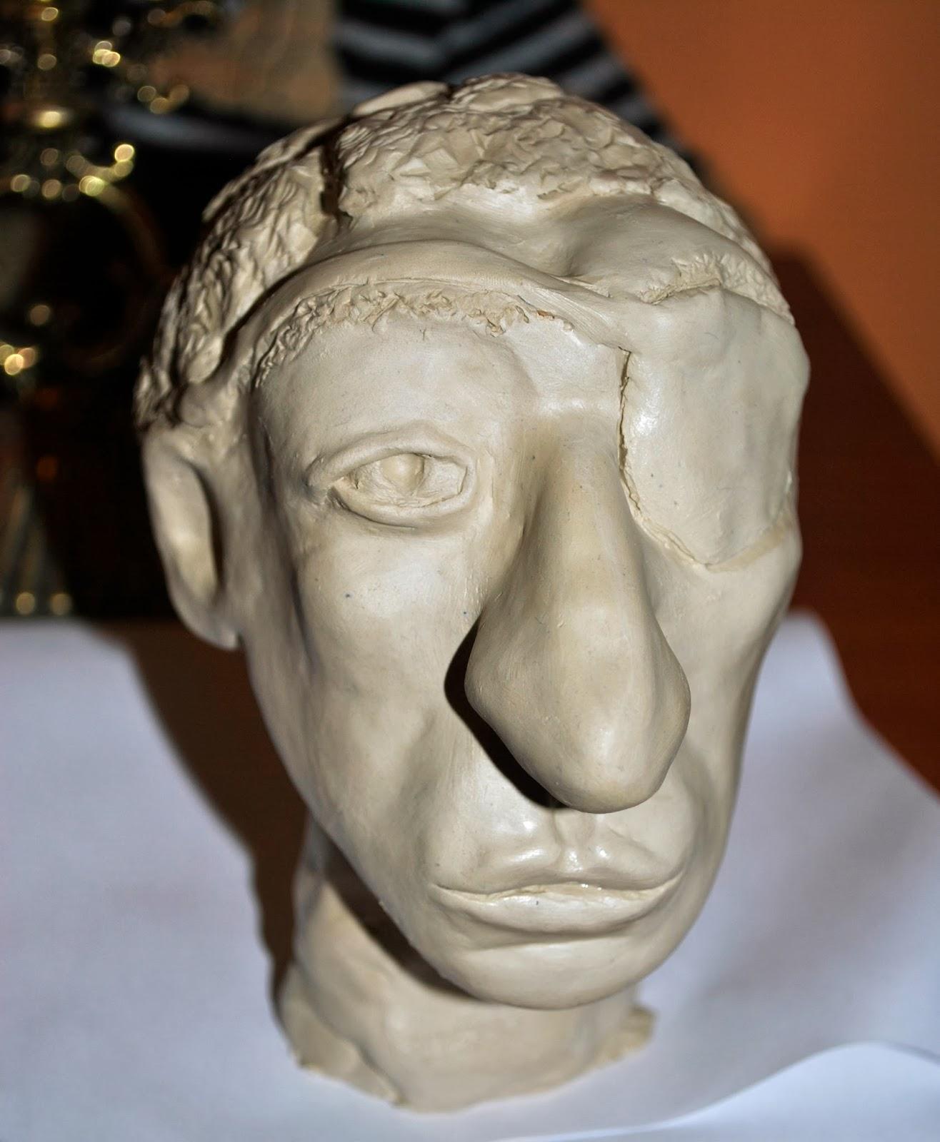 Rzeźba z gliny